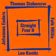 Thomas Stabenow: Straight Four II, CD