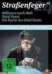 Straßenfeger Vol.24: Millionen nach Mass / Hotel Royal / Die Rache des Jebal Deeks, 4 DVDs