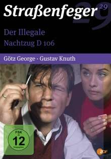 Straßenfeger Vol.29: Der Illegale / Nachtzug D 106, 4 DVDs