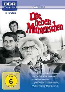 Die lieben Mitmenschen, 4 DVDs