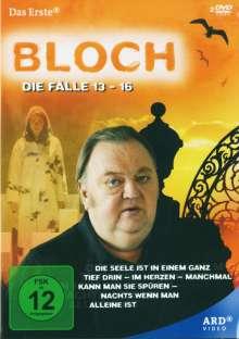 Bloch: Die Fälle 13-16, 2 DVDs