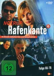 Notruf Hafenkante Vol. 6 (Folgen 66-78), 4 DVDs