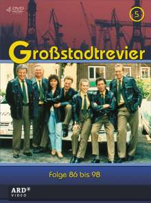 Großstadtrevier Box 5 (Staffel 10), 4 DVDs