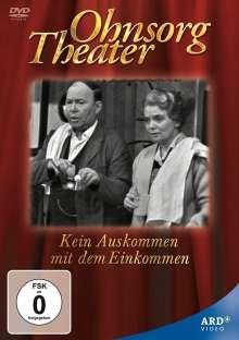 Ohnsorg Theater: Kein Auskommen mit dem Einkommen (hochdeutsch), DVD