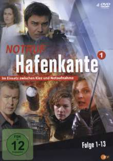 Notruf Hafenkante Vol. 1 (Folgen 1-13), 4 DVDs