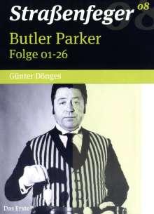 Straßenfeger Vol.8: Butler Parker, 4 DVDs