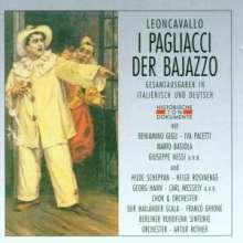 Ruggero Leoncavallo (1857-1919): Pagliacci (in deutscher Sprache), 2 CDs