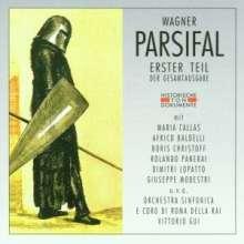 Richard Wagner (1813-1883): Parsifal (in ital.Spr./1.Teil), 2 CDs