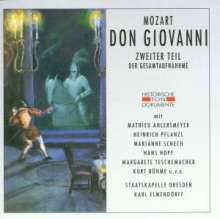 Wolfgang Amadeus Mozart (1756-1791): Don Giovanni (2.Teil in dt.Spr.), 2 CDs
