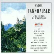 Richard Wagner (1813-1883): Tannhäuser (2.Teil), 2 CDs