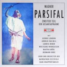Richard Wagner (1813-1883): Parsifal (2.Teil), 2 CDs