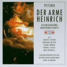 Hans Pfitzner (1869-1949): Der arme Heinrich, 2 CDs