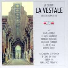 Gaspare Spontini (1774-1851): La Vestale, 2 CDs