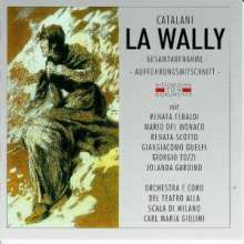 Alfredo Catalani (1854-1893): La Wally, 2 CDs