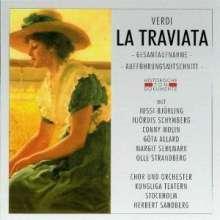 Giuseppe Verdi (1813-1901): La Traviata (in schwed.Spr.), 2 CDs