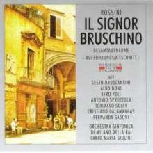 Gioacchino Rossini (1792-1868): Il Signor Bruschino (2 Gesamtaufnahmen), 2 CDs