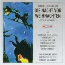 Nikolai Rimsky-Korssakoff (1844-1908): Die Weihnacht, 2 CDs