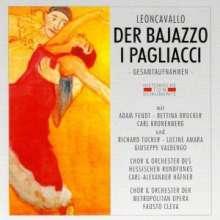 Ruggero Leoncavallo (1858-1919): Pagliacci (in dt.Spr.), 2 CDs