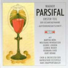 Richard Wagner (1813-1883): Parsifal (1.Teil), 2 CDs