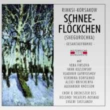Nikolai Rimsky-Korssakoff (1844-1908): Schneeflöckchen (Snegurotschka), 2 CDs