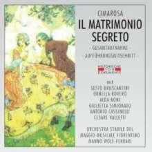 Domenico Cimarosa (1749-1801): Il Matrimonio Segreto, 2 CDs