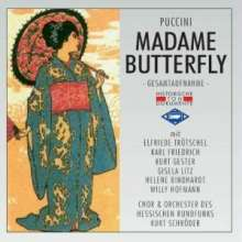 Giacomo Puccini (1858-1924): Madama Butterfly (in dt.Spr.), 2 CDs