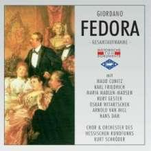 Umberto Giordano (1867-1948): Fedora (in dt.Spr.), 2 CDs