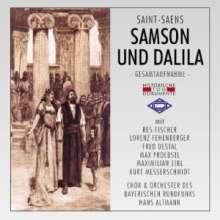 Camille Saint-Saens (1835-1921): Samson & Dalila (in dt.Spr.), 2 CDs