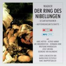 Richard Wagner (1813-1883): Der Ring des Nibelungen (MP3-Format), 2 MP3-CDs