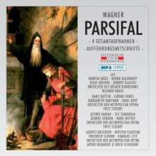 Richard Wagner (1813-1883): Parsifal (4 Gesamtaufnahmen in MP3-Format), 2 MP3-CDs