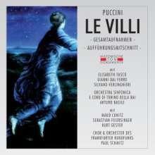Giacomo Puccini (1858-1924): Le Villi (2 Gesamtaufnahmen), 2 CDs