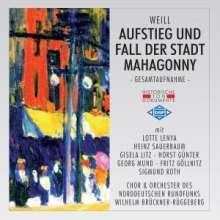 Kurt Weill (1900-1950): Aufstieg und Fall der Stadt Mahagonny, 2 CDs