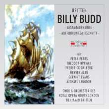 Benjamin Britten (1913-1976): Billy Budd op.50, 2 CDs