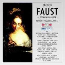 "Charles Gounod (1818-1893): Faust (""Margarethe"") - (4 Gesamtaufnahmen im MP 3-Format), 2 MP3-CDs"