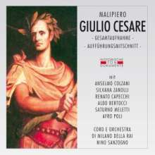 Gian Francesco Malipiero (1882-1974): Giulio Cesare, 2 CDs