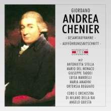 Umberto Giordano (1867-1948): Andrea Chenier, 2 CDs