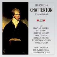 Ruggero Leoncavallo (1857-1919): Chatterton, 2 CDs
