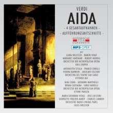 Giuseppe Verdi (1813-1901): Aida (4 Gesamtaufnahmen im MP3-Format), 2 MP3-CDs