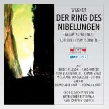 Richard Wagner (1813-1883): Der Ring des Nibelungen (Gesamtaufnahme im MP3-Format), 2 MP3-CDs