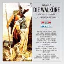 Richard Wagner (1813-1883): Die Walküre (4 Gesamtaufnahmen im MP3-Format), 2 MP3-CDs