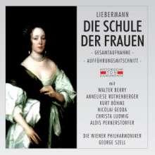 Rolf Liebermann (1910-1999): Die Schule der Frauen, 2 CDs