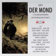 Carl Orff (1895-1982): Der Mond (2 Gesamtaufnahmen), 2 CDs