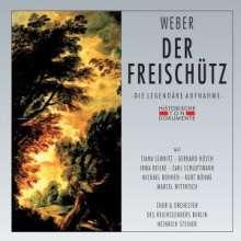 Carl Maria von Weber (1786-1826): Der Freischütz (gekürzte Aufnahme), 2 CDs