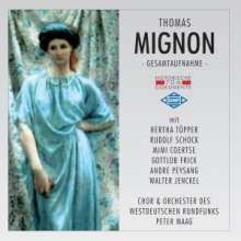 Ambroise Thomas (1811-1896): Mignon (in deutscher Spr.), 2 CDs
