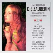 Peter Iljitsch Tschaikowsky (1840-1893): Die Zauberin (in deutscher Sprache), 2 CDs