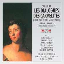 Francis Poulenc (1899-1963): Dialogues des Carmelites (in itaienischer Sprache), 2 CDs