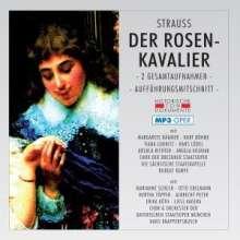 Richard Strauss (1864-1949): Der Rosenkavalier (2 Gesamtaufnahmen im MP3-Format), 2 MP3-CDs
