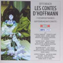 Jacques Offenbach (1819-1880): Les Contes D'Hoffmann (4 Gesamtaufnahmen im MP3-Format), 2 MP3-CDs