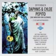 Jacques Offenbach (1819-1880): Daphnis et Chloe (Ges.-Aufn.), 2 CDs