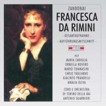 Riccardo Zandonai (1883-1944): Francesca da Rimini, 2 CDs